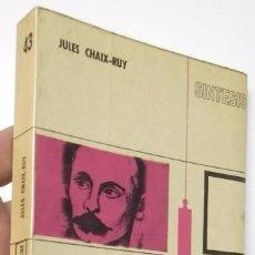 Libros de segunda mano: SÍNTESIS DEL PENSAMIENTO DE NIETZSCHE - JULES CHAIX-RUY. Lote 56279324