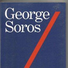 Libros de segunda mano: GEORGE SOROS. MI FILOSOFIA. TAURUS. Lote 181029661