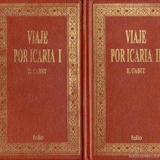 Libros de segunda mano: VIAJE POR ICARIA DE ÉTIENNE CABET. Lote 58392314