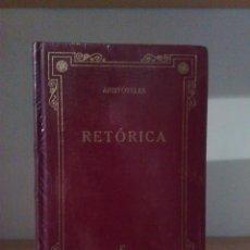 Libros de segunda mano: ARISTÓTELES: RETÓRICA. Lote 58528055