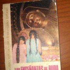 Libros de segunda mano: LAS ENSEÑANZAS DE BUDA. Lote 58637087