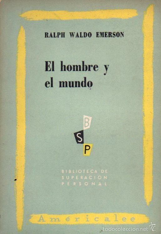 EMERSON : EL HOMBRE Y EL MUNDO (AMERICALEE,1953) (Libros de Segunda Mano - Pensamiento - Filosofía)