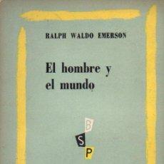 Libros de segunda mano: EMERSON : EL HOMBRE Y EL MUNDO (AMERICALEE,1953). Lote 58802976