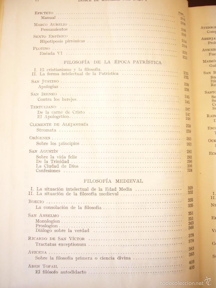Libros de segunda mano: JULIÁN MARÍAS: LA FILOSOFÍA EN SUS TEXTOS, I: DE TALES A GALILEO (LABOR, 1963) RARO - Foto 5 - 60772335