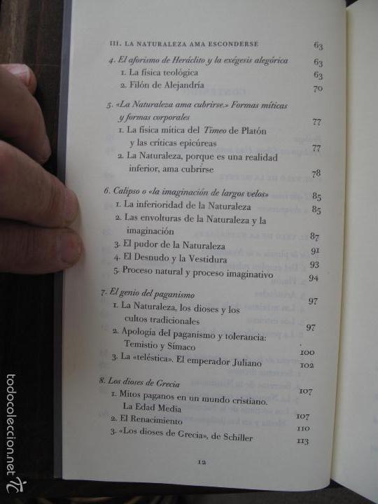Libros de segunda mano: EL VELO DE ISIS. ENSAYO SOBRE LA HISTORIA DE LA NATURALEZA.- PIERRE HADOT.- ALPHA DECAY. CNL.- - Foto 4 - 166959436