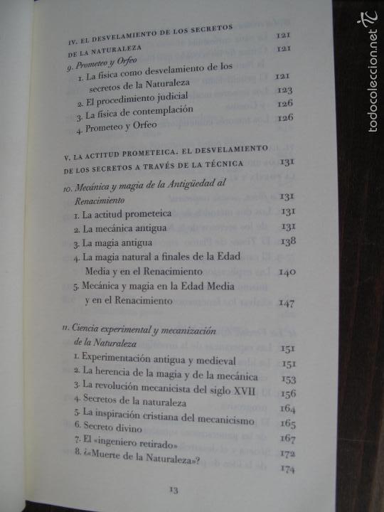 Libros de segunda mano: EL VELO DE ISIS. ENSAYO SOBRE LA HISTORIA DE LA NATURALEZA.- PIERRE HADOT.- ALPHA DECAY. CNL.- - Foto 5 - 166959436