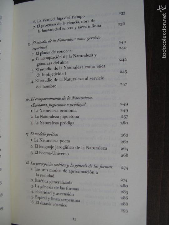 Libros de segunda mano: EL VELO DE ISIS. ENSAYO SOBRE LA HISTORIA DE LA NATURALEZA.- PIERRE HADOT.- ALPHA DECAY. CNL.- - Foto 6 - 166959436