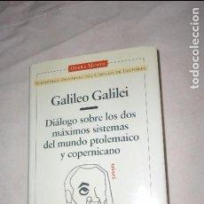 Libros de segunda mano: GALILEO GALILEI - DIÁLOGO SOBRE LOS DOS MAXIMOS SISTEMAS DEL MUNDO. Lote 65702942