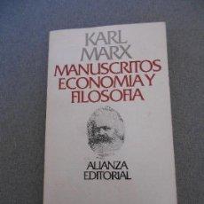 Libros de segunda mano: MANUSCRITOS ECONOMIA Y FILOSOFIA. Lote 65657434