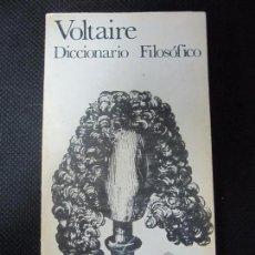 Libros de segunda mano: DICCIONARIO FILOSÓFICO. VOLTAIRE. AKAL EDITOR. 380PAGINAS. 22X11,7 CM. FALTA LA ULTIMA PAGINA.. Lote 66347382