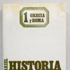 Libros de segunda mano: HISTORIA DE LA FILOSOFIA. GRECIA Y ROMA (VOL. 1) - FREDERICK COPLESTON ED. ARIEL. Lote 67673701