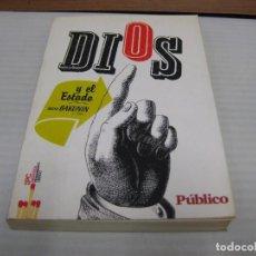 Libros de segunda mano: DIOS Y EL ESTADO, BAKUNIN 2009. Lote 68478949