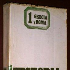 Libros de segunda mano: HISTORIA DE LA FILOSOFÍA 1 POR FREDERICK COPLESTON DE ED. ARIEL EN BARCELONA 1981. Lote 68963701
