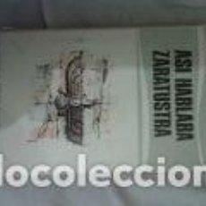 Libros de segunda mano: ASI HABLABA ZARATUSTRA. NIETZSCHE. Lote 71149457