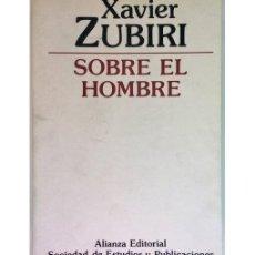 Libros de segunda mano - SOBRE EL HOMBRE - 74376119