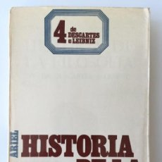 Libros de segunda mano - HISTORIA DE LA FILOSOFIA 4 DE DESCARTES A LEIBNIZ - FREDERICK COPLESTON - ARIEL COLECCIÓN CONVIVIUM - 160009097