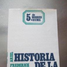 Libros de segunda mano: HISTORIA DE LA FILOSOFÍA 5-FREDERICK COPLESTON-ARIEL-1981-TAPA BLANDA.VER FOTOS.. Lote 77933697