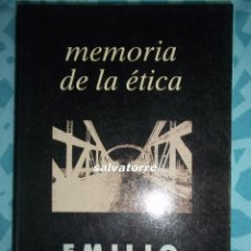 Libros de segunda mano: EMILIO LLEDÓ. MEMORIA DE LA ÉTICA. TAURUS. 1ª EDICION 1994.PERFECTO. Lote 78879501