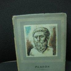 Libros de segunda mano: DIALOGOS. PLATON. OBRAS MAESTRAS. EDITORIAL IBERIA 1947. Lote 83118972