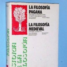 Libros de segunda mano: HISTORIA DE LA FILOSOFÍA. IDEAS, DOCTRINAS TOMO I. . Lote 83493500