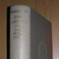 Libros de segunda mano: ORTEGA Y GASSET, JOSÉ: OBRAS COMPLETAS TOMO II: EL ESPECTADOR (1916-1934). REVISTA DE OCCIDENTE 1954. Lote 83819440