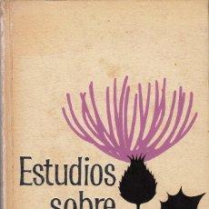 Libros de segunda mano: ESTUDIOS SOBRE EL AMOR. JOSÉ ORTEGA Y GASSET. Lote 83945664