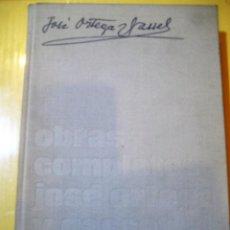 Libros de segunda mano: ORTEGA Y GASSET - REVISTA DE OCCIDENTE - OBRAS COMPLETAS- ELTOMO PERTENECE A UNA COLECCIÓN DE LIBROS. Lote 135331287