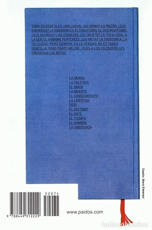 Libros de segunda mano: INVITACIÓN A LA FILOSOFÍA ANDRÉ COMTE - SPONVILLE - Foto 2 - 86105796