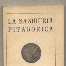 Libros de segunda mano - SABIDURÍA PITAGÓRICA. - 86212416