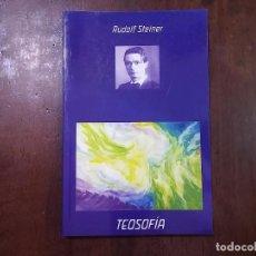 Libros de segunda mano: TEOSOFÍA - RUDOLF STEINER. Lote 86326552