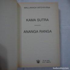 Libros de segunda mano: KAMA SUTRA. ANANGA RANGA - MALLANAGA VATSYAYANA - RBA - 2002. Lote 88644396