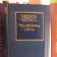 Libros de segunda mano: MÁS ALLÁ DEL BIEN Y DEL MAL (FRIEDRICH NIETZSCHE) FILOSOFÍA. Lote 98618927