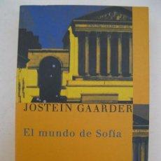 Libros de segunda mano: EL MUNDO DE SOFÍA - JOSTEIN GAARDER - EDICIONES SIRUELA - AÑO 2005.. Lote 90002852