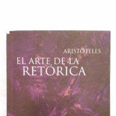 Libros de segunda mano: ARISTÓTELES: EL ARTE DE LA RETÓRICA. EUDEBA, ARGENTINA.. Lote 90561465