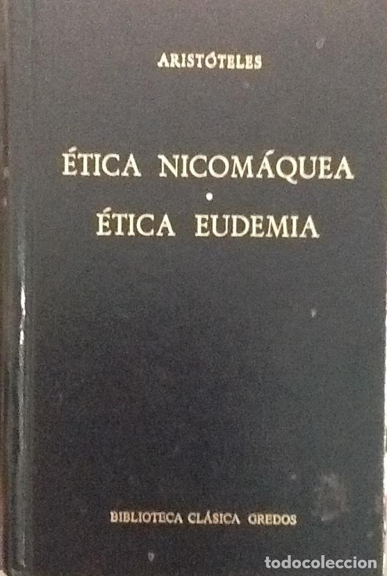 Resultado de imagen para Ética Nicomáquea. Ética Eudemia