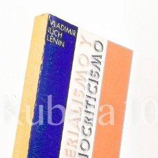 Libros de segunda mano: MATERIALISMO Y EMPIRIOCRITICISMO ·· ED. AYUSO ·· VLADIMIR ILICH LENIN. Lote 91478070