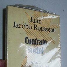 Libros de segunda mano: CONTRATO SOCIAL (PRÓLOGO DE MANUEL TUÑON DE LARA) - JEAN JACQUES ROUSSEAU (SELECCIONES AUSTRAL). Lote 49159686