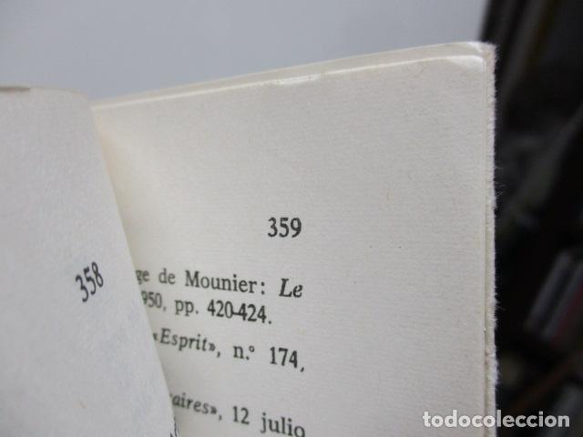 Libros de segunda mano: EL PENSAMIENTO DE EMMANUEL MOUNIER (Barcelona, 1969) - Foto 6 - 92906860