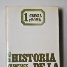 Libros de segunda mano: HISTORIA DE LA FILOSOFIA. GRECIA Y ROMA (VOL.I) - FREDERICK COPLESTON ED. ARIEL. Lote 93565135