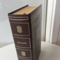 Libros de segunda mano: EL SER Y LA NADA - JEAN PAUL SARTRE - BIBLIOTECA DE LOS GRANDES PENSADORES RBA . Lote 93669510