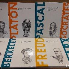 Libros de segunda mano: DESCUBRIR LA FILOSOFÍA. EMPIEZA TU COLECCIÓN / LIBROS COMO NUEVOS / LEER DESCRIPCIÓN !!. Lote 93991590