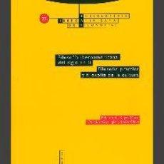 Libros de segunda mano: FILOSOFÍA IBEROA,TROTMERICANA DEL SIGLO XX. VOLUMEN II. FILOSOFÍA PRÁCTICA Y FILOSOFÍA DE LA CULTURA. Lote 94125620