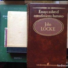 Libros de segunda mano: ENSAYO SOBRE EL CONOCIMIENTO HUMANO. JOHN LOCKE. Lote 95322048