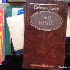 Libros de segunda mano: DEL ENTENDIMIENTO. HUME. Lote 95322132