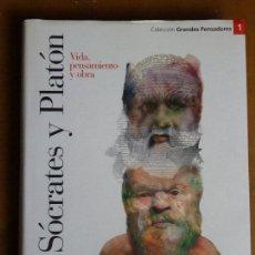 Libros de segunda mano: SÓCRATES Y PLATÓN, VIDA, PENSAMIENTO Y OBRA. GRANDES PENSADORES 1. Lote 95401535