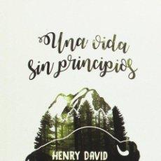 Libros de segunda mano: UNA VIDA SIN PRINCIPIOS. - THOREAU, HENRY DAVID.. Lote 95788674