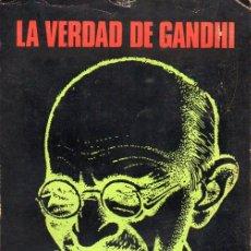 Libros de segunda mano: ERIKSON : LA VERDAD DE GANDHI (SUDAMERICANA, 1973). Lote 97327431