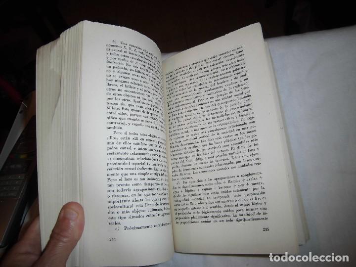 Libros de segunda mano: LAS FILOSOFIAS SOCIALES DE NUESTRA EPOCA DE CRISIS.EL HOMBRE FRENTE A LA CRISIS.PITIRIM A.SOROKIN. - Foto 6 - 97780703