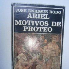 Libros de segunda mano - LIBROS PENSAMIENTO FILOSOFIA - ARIEL MOTIVOS DE PROTEO JOSE ENRIQUE RODO BIBLIOTECA AYACUCHO 1985 - 98169263
