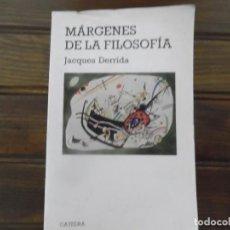 Libros de segunda mano: MÁRGENES DE LA FILOSOFÍA. Lote 101063743